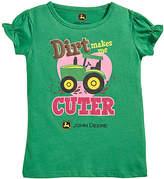 John Deere Green 'Dirt Makes Me Cuter' Tee - Infant