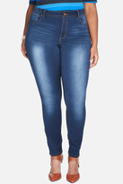 Fashion to Figure Super Soft Faded Medium Wash Skinny Jeans