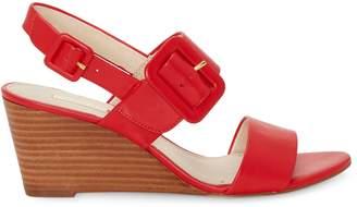 Louise et Cie Putnam Leather Wedge Sandals