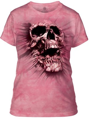 The Mountain Breakthrough Skull Adult Woman's T-Shirt