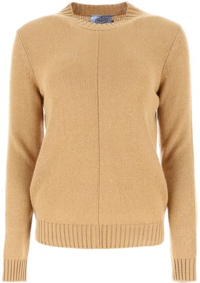 Prada Crewneck Knitted Jumper