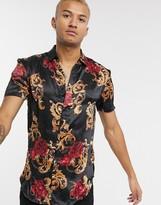 SikSilk x Dani Alves resort shirt