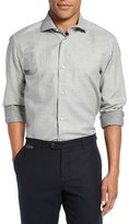 Eleventy Men's Dot Jacquard Sport Shirt