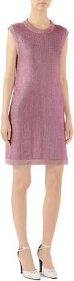 Gucci Sparkling Knit Shift Dress