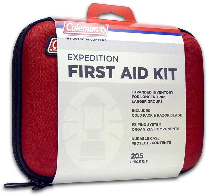 Coleman 200-pc. expedition first aid kit