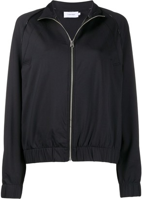Calvin Klein Milano jersey zip-up jacket