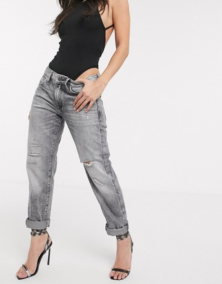 G Star G-Star boyfriend jean in sun faded black
