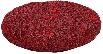 Eugenia Kim Cher Metallic Knit Beret