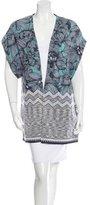Missoni Floral Patterned Knit Cardigan