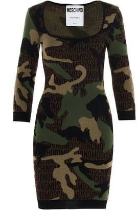 Moschino military Army Dress