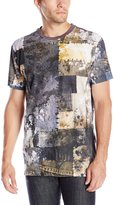Akademiks Men's Hazlett Four Color Process T-Shirt