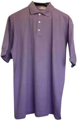 Loewe Purple Cotton Polo shirts