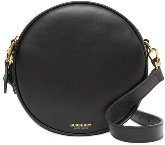 Burberry Mini Leather Louise Cross-Body Bag