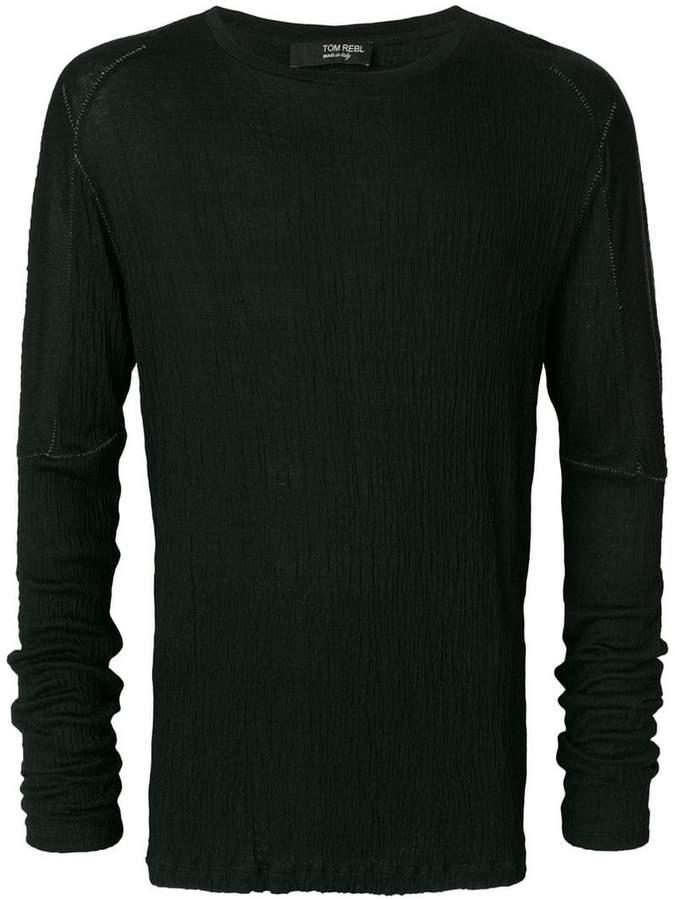 Tom Rebl ロングTシャツ
