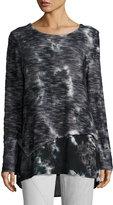 XCVI Gabriella Tie-Dye Sweater, Rockpal