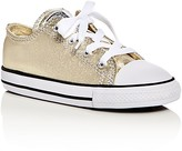 Converse Girls' Seasonal Metallic Chuck Taylor All Star Lace Up Sneakers - Toddler