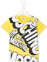 Moschino Kids - logo print T-shirt - kids - Cotton - 2 yrs