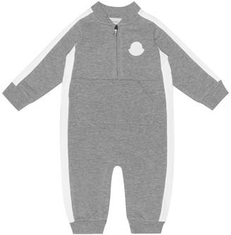 Moncler Enfant Baby stretch-cotton onesie
