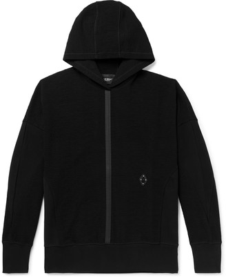 A-Cold-Wall* Oversized Textured Cotton-Blend Hoodie