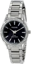 Pulsar Women's PH8019X Analog Display Japanese Quartz Silver Watch