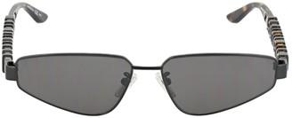 Balenciaga Typo Rectangle 0107s Sunglasses
