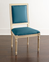 Horchow Massoud Ingram Leather Dining Chair, A2
