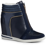 Tommy Hilfiger Shearling Wedge Sneaker