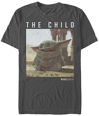 Fifth Sun Tee Shirts CHARCOAL - Star Wars Charcoal Green 'The Child' Tee - Adult