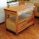 Catskill Craft Grand Americana Kitchen Cart