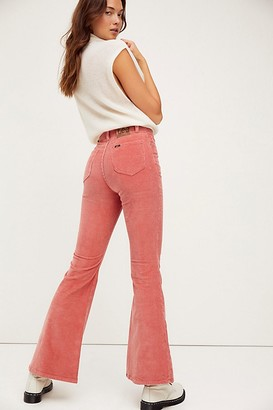 Lee High-Rise Cord Flare Jeans