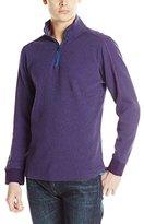 Robert Graham Men's Falconer-1/4 Zip Pullover Sweater