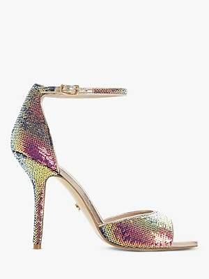 Dune Millionaire Diamante Stiletto Heel Sandals, Multi