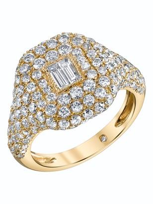 Shay Essential Pave Diamond Pinky Ring