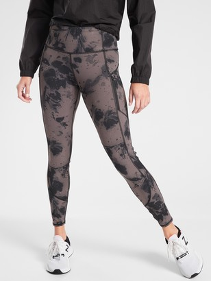 Athleta Rainier Reflective Tight In Powerlift