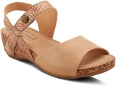 Spring Step L'Artiste by Floral Leather Sandals- Ceylan