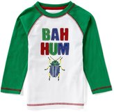Class Club Adventure Wear by Little Boys 2T-6 Christmas Bah Hum Bug Tee