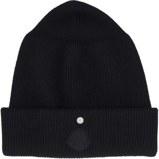 MONCLER GENIUS Logo Wool Hat