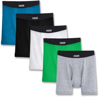 Fruit of the Loom Boys 5-Pack Boxer Briefs