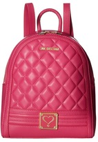 Love Moschino Quilted Mini Backpack Backpack Bags