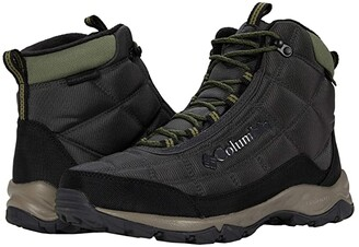 Columbia Firecamp Boot (Black/City Grey) Men's Boots