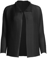 Issey Miyake Wooly Pleated Jacket