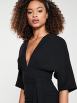 Very MILANA Kimono Sleeve Pencil Dress - Black