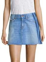 The Kooples Mini Denim Skirt