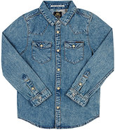Scotch Shrunk DENIM SNAP-FRONT SHIRT