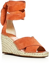 Vince Camuto Leddy Ankle Wrap Espadrille Wedge Sandals