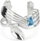 Husam el Odeh Fork and spoon silver bangle