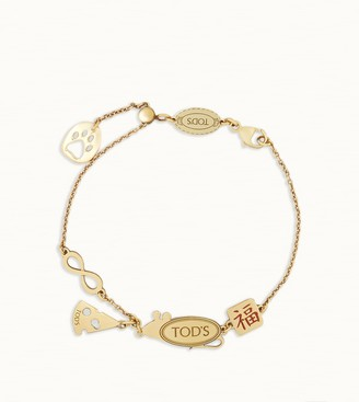 Tod's Rat Cheese Chain Bracelet