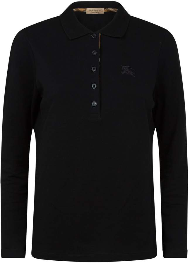 Burberry Equestrian Knight Polo Shirt