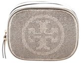 Tory Burch Metallic Leather Cosmetic Bag w/ Tags