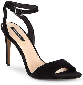 Ava & Aiden Leather Ankle-Strap Sandal